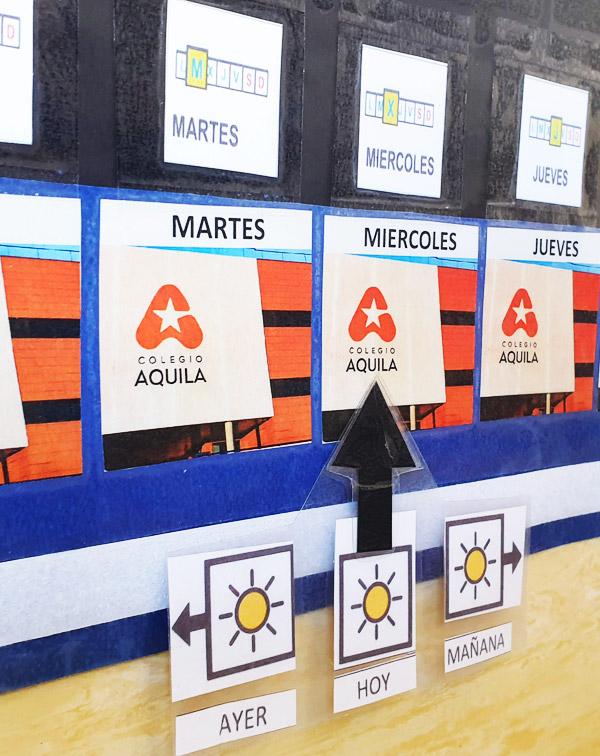 Colegio Aquila · Aulas TEA